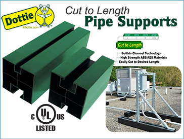 LH Dottie Cut To Length Pipe Supports