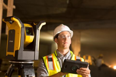 Trimble Debuts New Rapid Positioning System to Simplify Layout for Building Contractors