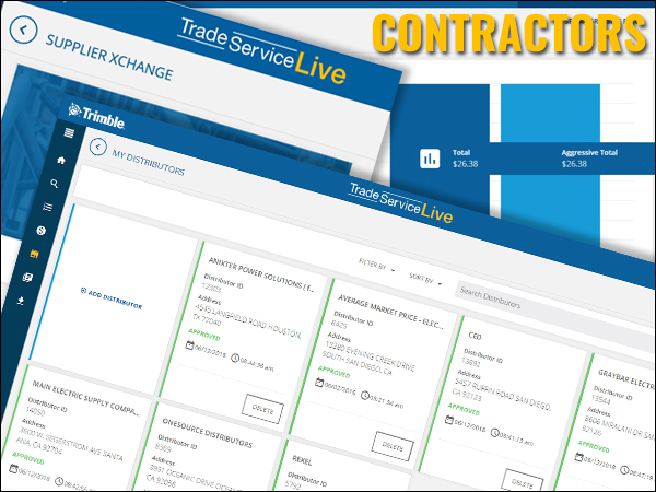 Tra Ser For Electrical Contractors Trade Service